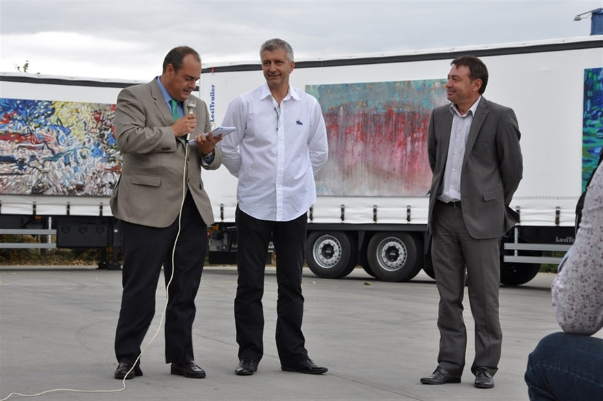 LAUNCH OF THE NEW SCANIA STREAMLINE WITH EURO 6 ENGINES AND NEW LECITRAILER SEMI-TRAILERS