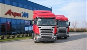 Agri'M Delivered 2 New Scania Streamline tractors with EURO 6 Engines for Tomex Trans EOOD