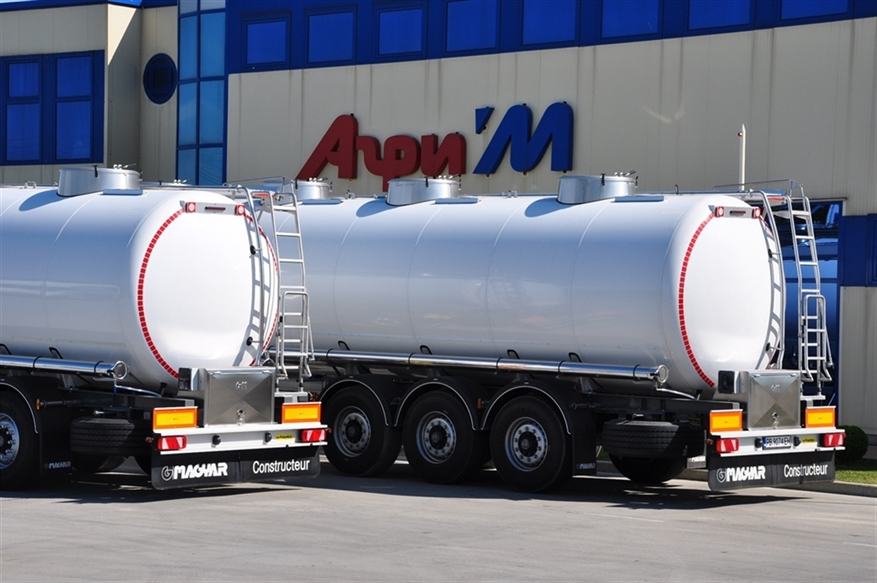Agri'M delivered 4 new Magyar semitrailers-tanks to Transport & Spedition EOOD